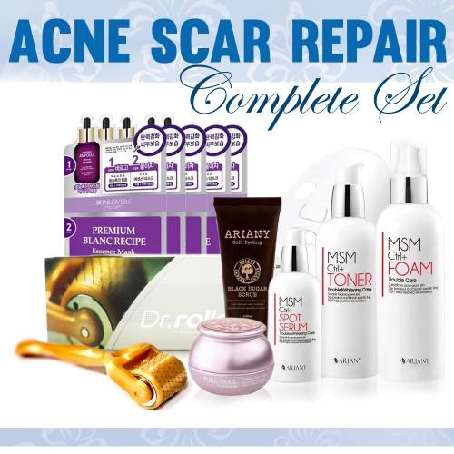 NEW! Acne Scar Repair Complete Set